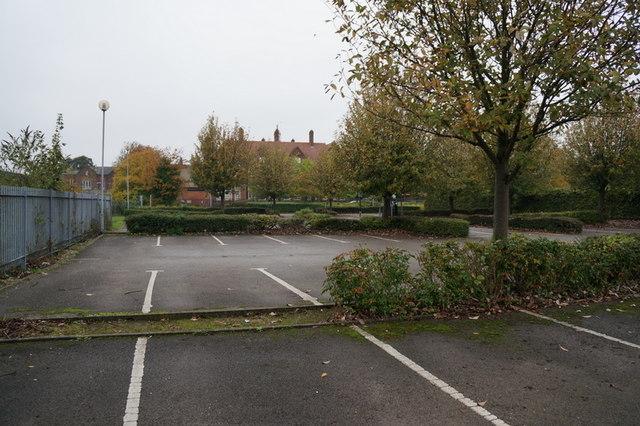 The car park at Brunswick House