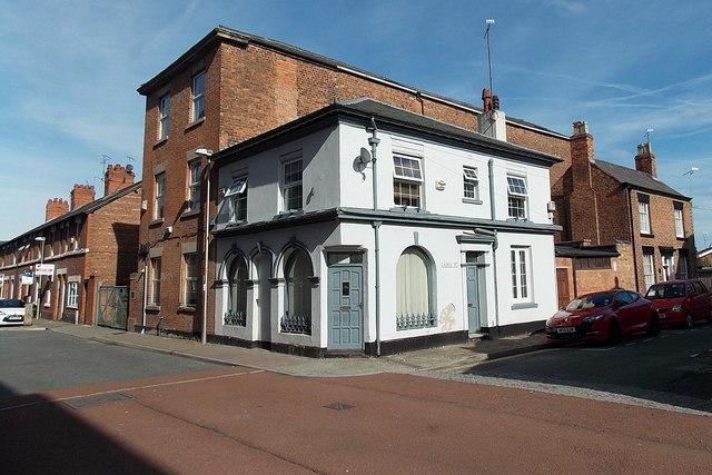 Corner of Egerton Street and Albert Street, Chester