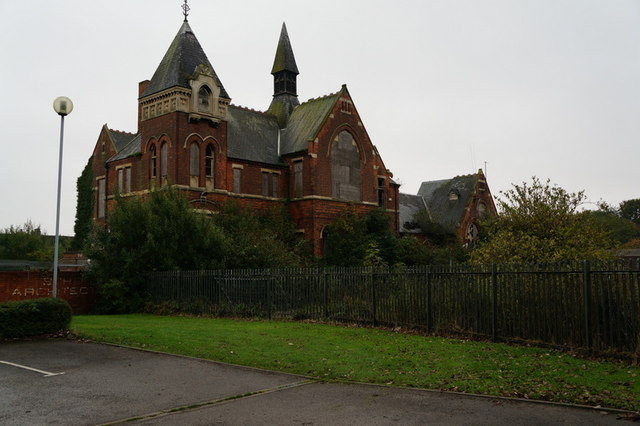 The former Blundell Street Junior School