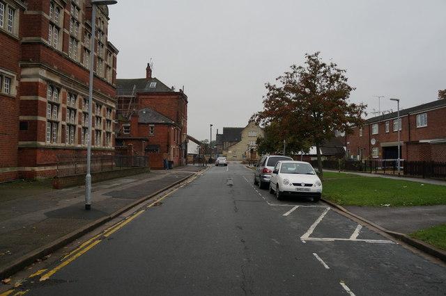 Strand Close off Beverley Road, Hull