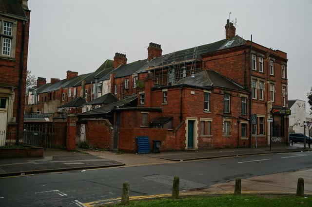 Building on Beverley Road, Hull