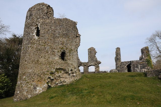 Ruins of Narberth Castle