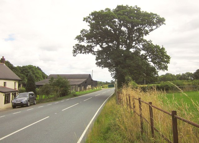 A3072 at Horralane