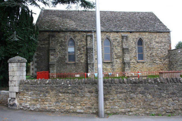 Faringdon Baptist Church, Bromsgrove face