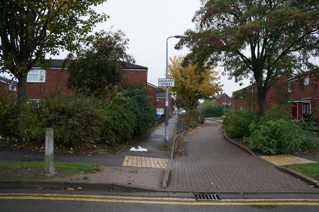 Leonard Street off Beverley Road, Hull