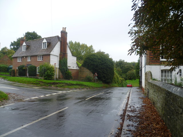 Rainy day in West Farleigh