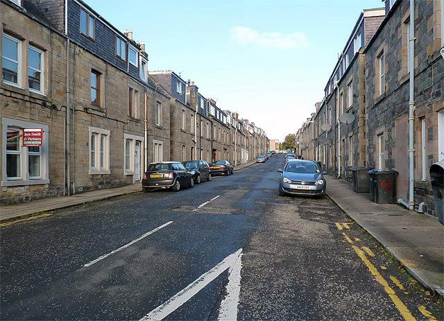 St Andrew Street, Galashiels