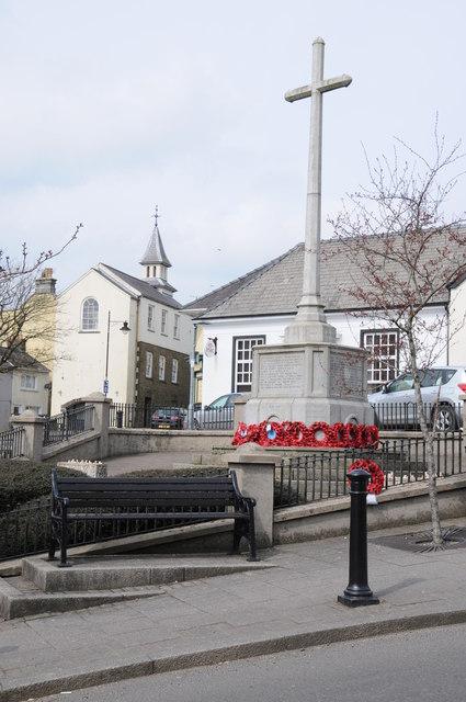 War Memorial and Town Hall, Narberth