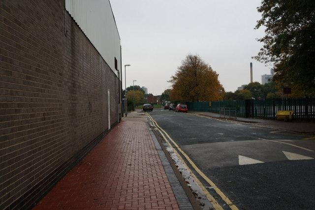 Collingwood Street off Spring Bank, Hull