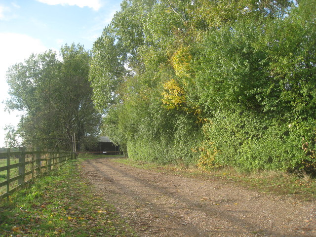 The footpath to New Lane