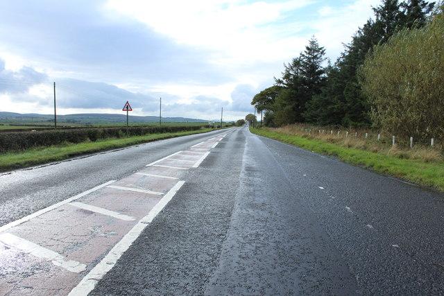 A70 to Ayr near Killoch