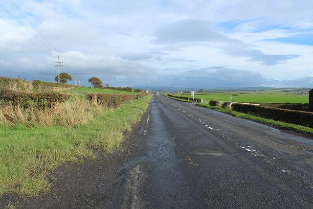 A70 to Cumnock near Laigh Tarbeg