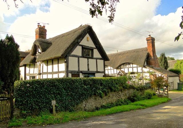 17th century cottages, Ashford Bowdler