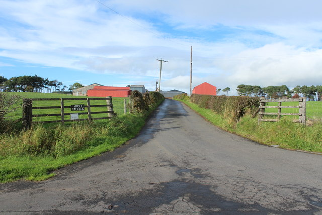 Road to High Tarbeg Farm