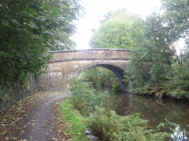 Rochdale Canal, Coppy Bridge