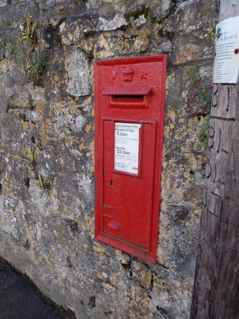 Carbis Bay: postbox № TR26 138, Porthrepta Road
