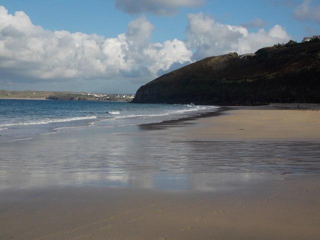 Carbis Bay: the beach