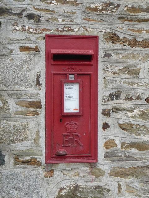 Gweek: postbox № TR12 65
