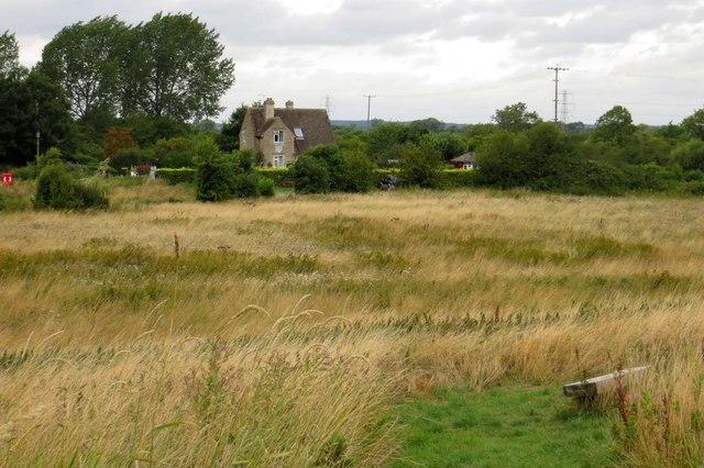 Grassland by Pinkhill Lock