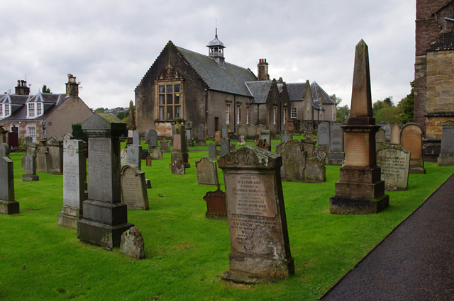 Dunblane Cathedral graveyard