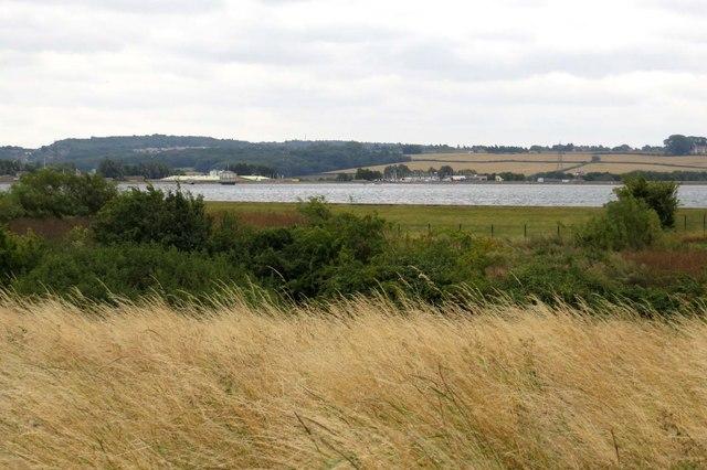 Looking across Farmoor Reservoir