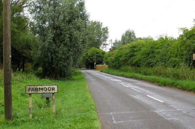 Cumnor Road into Farmoor