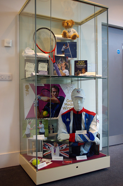 Dunblane Museum - Andy Murray exhibit