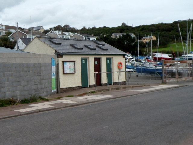 Public toilets near Pembrokeshire Yacht Club, Milford Haven