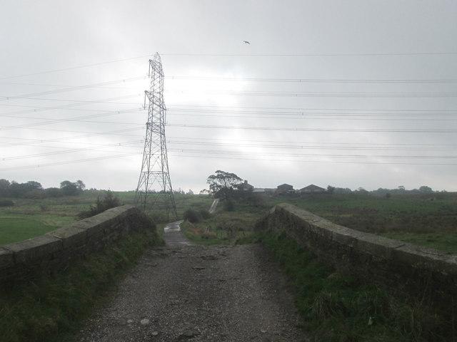 Track towards Cut Farm