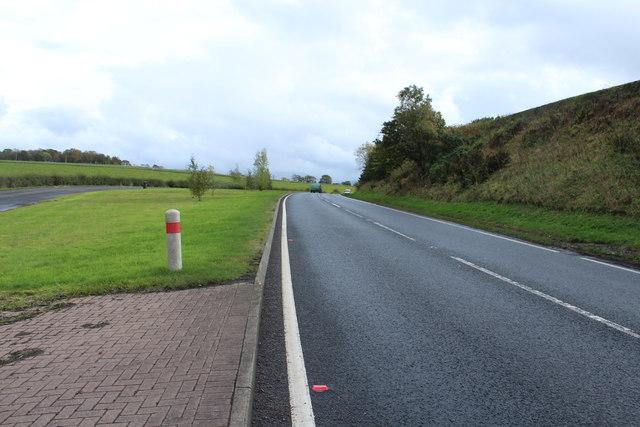 A76 to Dumfries near Calton