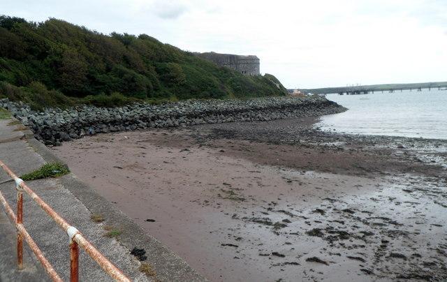 Coastal defences, Milford Haven