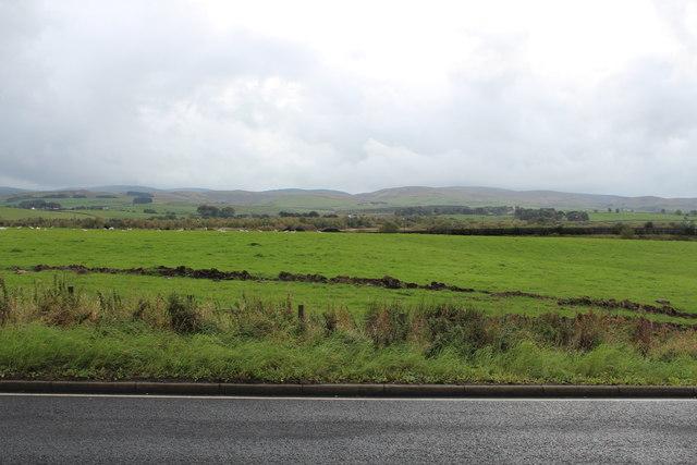 Farmland near New Cumnock