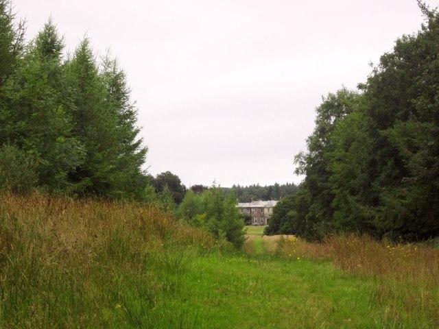 Vista to Buckland House
