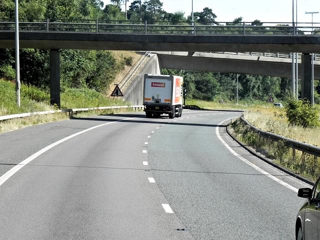 M27-M3 Interchange near Southampton