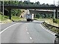 SU4217 : M27-M3 Interchange near Southampton by David Dixon