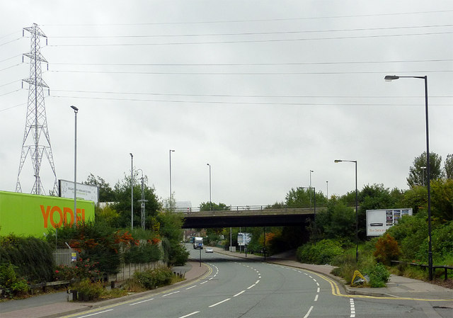Owen Road in Willenhall, Walsall