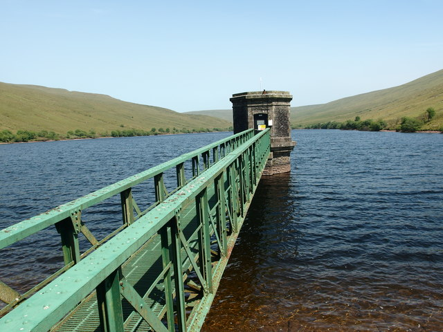 Valve House at Ystradfellte Reservoir