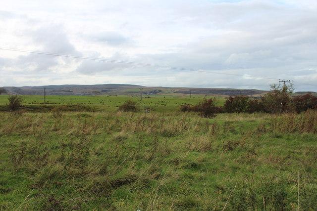 Farmland near Bankglen