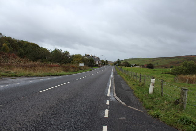 A713 to Dalmellington at Waterside
