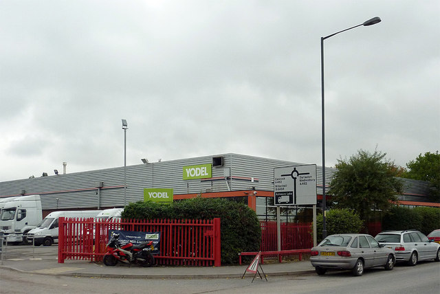 Yodel depot in Willenhall, Walsall