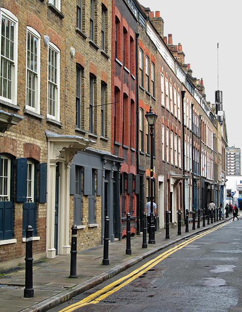 Spitalfields: Fournier Street