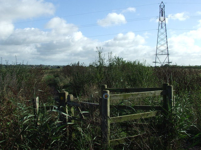 Kissing Gate And Pylon