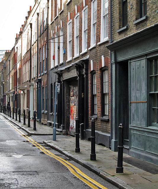 Spitalfields: in Fournier Street