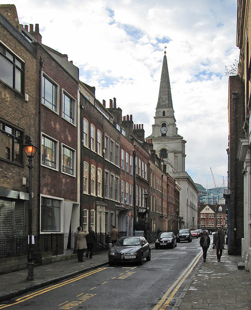 Spitalfields: Fournier Street and Christ Church