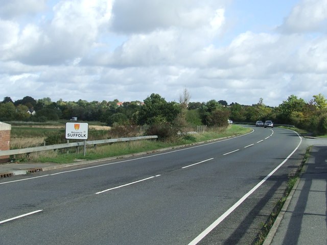 Entering Suffolk