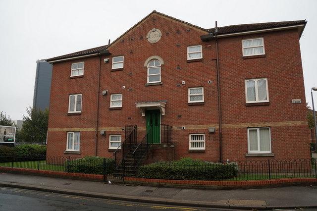 Flats on Kings Leigh, on Bean Street, Hull