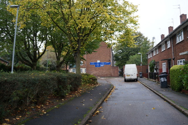 King's Cross Close off Bean Street, Hull