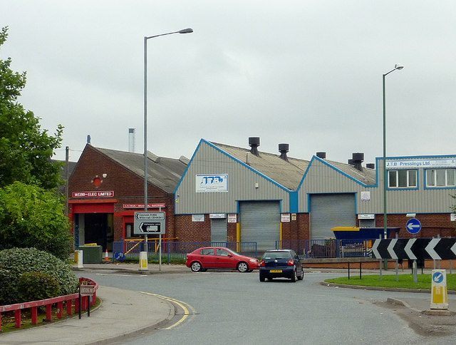 Industrial units in Willenhall, Walsall