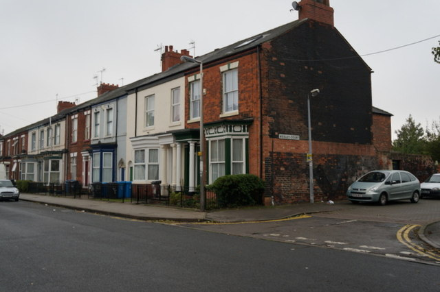 Coltman Street at Wesley Court, Hull