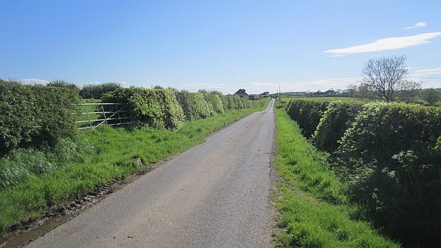 Minor road to Bogend